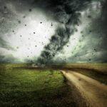 真逆の現象は台風のようなもの